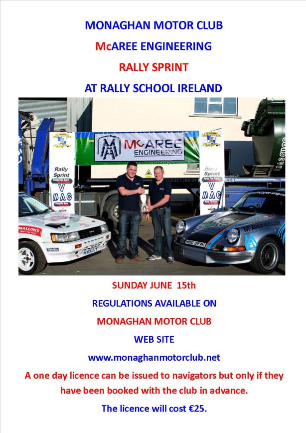 2014 Rallysprint Poster