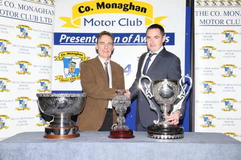 2014 D Connolly Club Champion Presentation by P Hughes CMMC Chairman