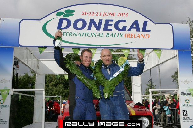 G McPhillips winner two wheel drive Donegal Rally 2013