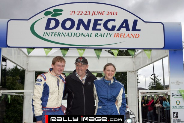 Wright winners Group N Donegal International Rally 2013