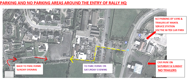 Parking Rules Rally HQ